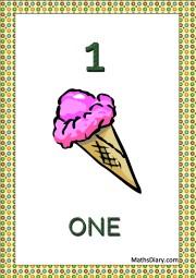 1 ice cream