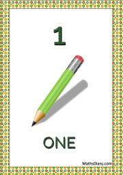 1 pencil