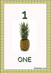 1 pineapple