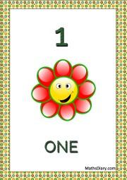 1 smiling flower
