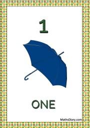 1 umbrella