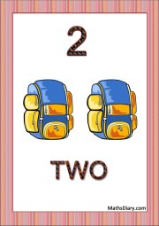 2 backpacks
