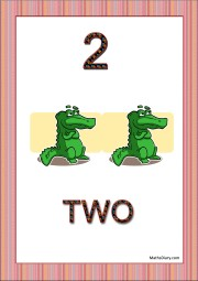 2 crocodiles