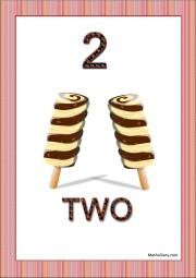 2 ice candies