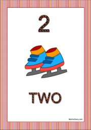 2 ice skates