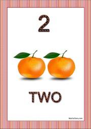 2 oranges