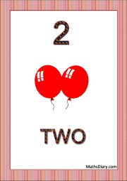 2 red balloons