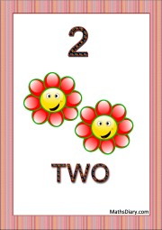 2 smiling flowers