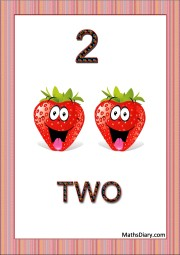 2 smiling strawberries
