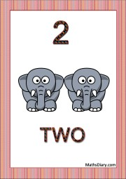 2 tiny elephants