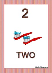2 toothbrushes with paste