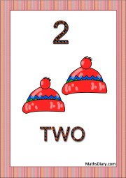 2 woolen caps