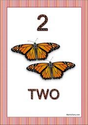2 yellow butterflies