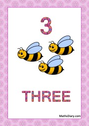 3 bees