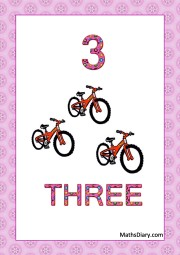 3 bicycles