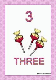 3 candies