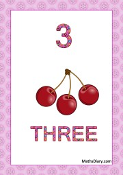 3 cherries