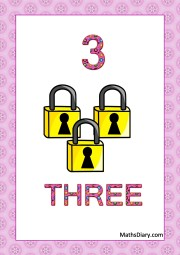 3 locks