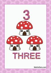 3 mushroom houses