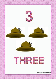 3 safari hats