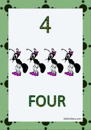 4 ants