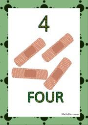 4 band aids
