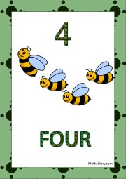 4 bees