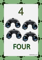 4 binoculars