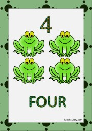4 frogs