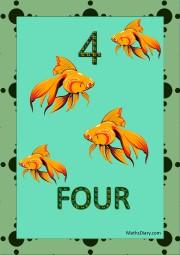 4 golden fish