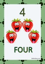4 laughing strawberries