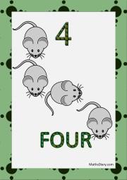 4 mice
