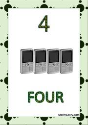 4 mobiles