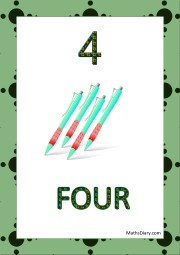 4 pens