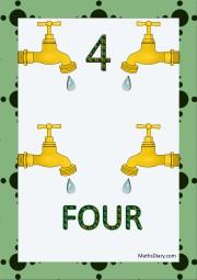 4 taps
