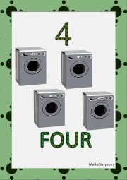 4 washing machines