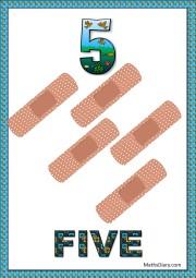 5 band aids