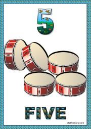 5 drums