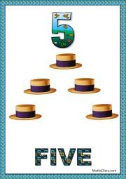 5 hats