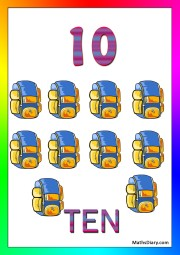 10 backpacks