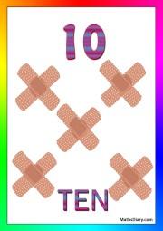10 bandaids