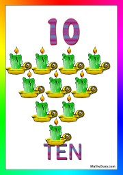 10 candles