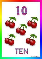 10 cherries