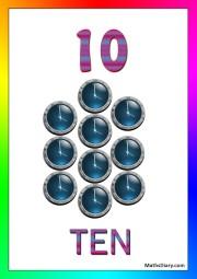 10 clocks