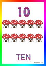 10 mushroom houses