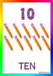 10 pencils