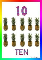 10 pineapples
