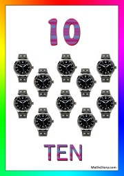10 wrist watches