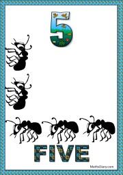 5 sad ants