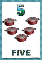 5 sauce pans
